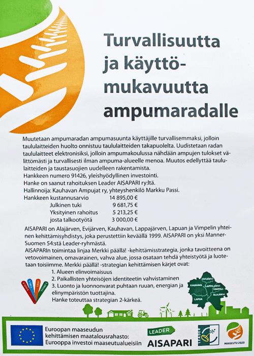 Aisapari-hanke 91426